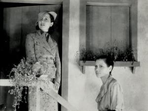 Carmen Santos e Antonia Marzullo (tia da Marília Pêra).